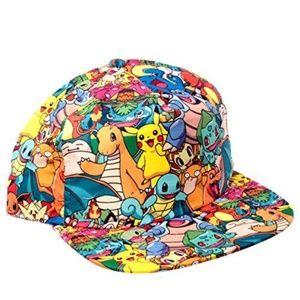 Pokemon All Over Snapback